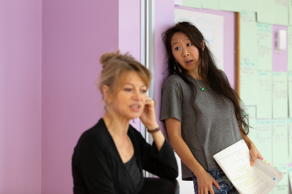 Photo Flash: Inside Rehearsal For MEPHISTO (A RHAPSODY) at the Gate Theatre